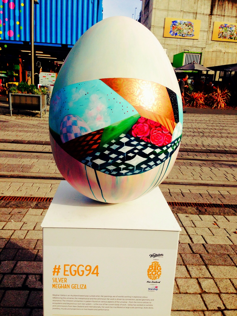 The Big Egg Hunt, Re:Start, Christchurch