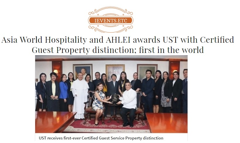 ievents.etc • June 16, 2017 read full article:  http://ieventsetc.com/2017/06/16/asia-world-hospitality-ahlei-awards-ust-certified-guest-property-distinction-first-world/