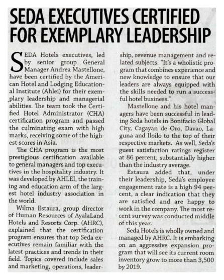 Business Mirror  November 19, 2017