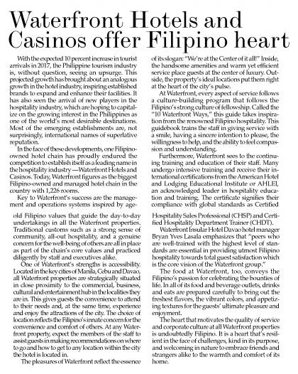 The Philippine Star  November 27, 2017