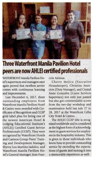 Manila Times • March 08, 2018