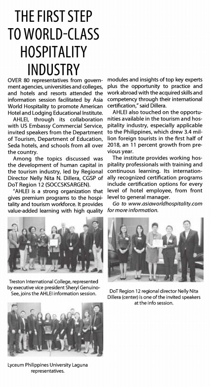 Manila Standard Today | February 17, 2019
