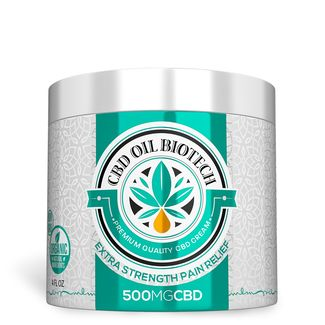 For my injuries and sore muscles I recommend CBD Oil Biotech Pain Relief CBD Cream 500MG is the ultimate CBD cream for pain relief. This concentrated, CBD oil lotion has menthol and natural CBD infused hemp oil (sourced from industrial hemp).