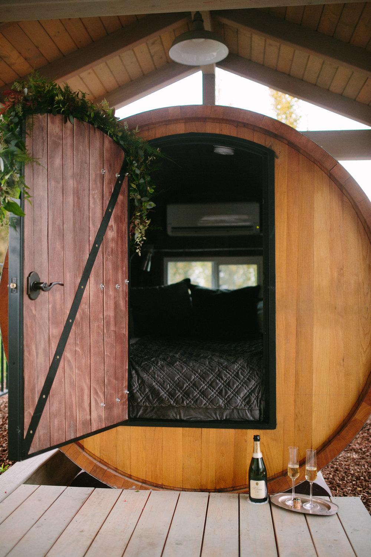 Bryant Barn's Barrel Cabin VRBO