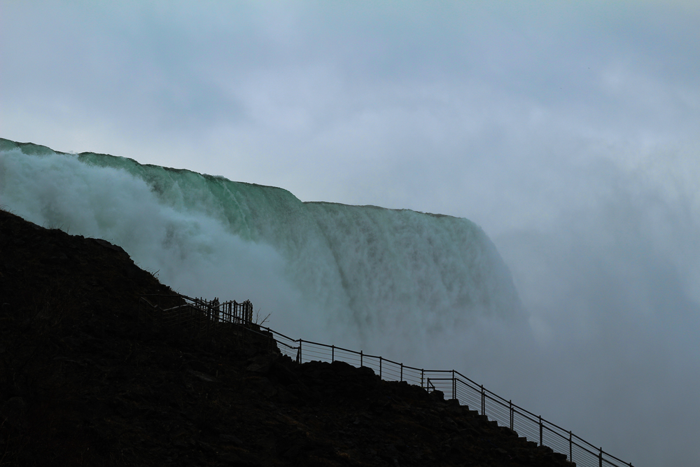 All of my pictures of Niagara Falls were terrible.  My only defense is that I could not stop screaming.  I have seriously never been somewhere quite as thrilling.