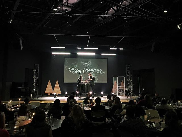 We had the best time at our Creative Team Christmas party! Such a wonderful evening celebrating all that God did in 2017! WE LOVE YOU TEAM🎄❤️