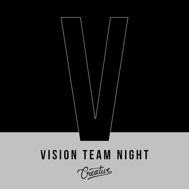 Vision Team Night!! Happening this coming Tuesday, February 6th at North Campus! 7pm! We can't wait to gather as a team and share vision for 2018!