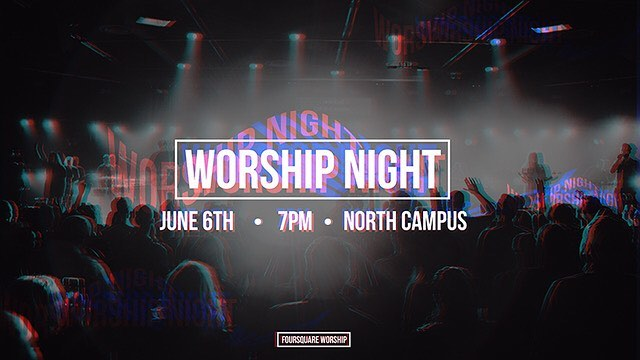 So excited for our church worship night tomorrow night! We're believing for a powerful move of God to take place! Let's be inviting our community!