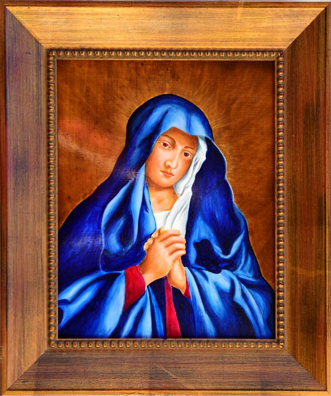 Portrait Of The Young Virgin Mary