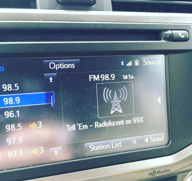 Our buddy Matt Spence was jammin on the radio(Lucent) yesterday. Thanks man! Check out 99x in Atlanta. #radiolucent #atlanta #99x