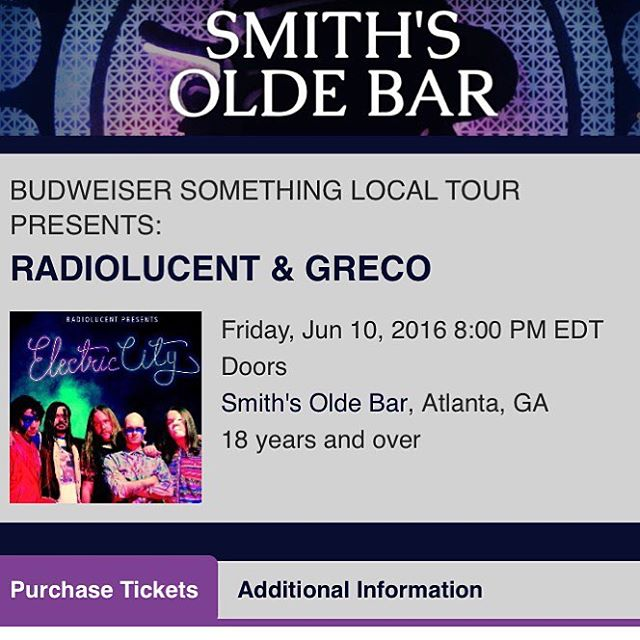 This Friday its on like Mee-shell Kwan! Come get you a pull! @smithsoldebar #smithsoldebar #atlanta #georgia #music #rockandroll #skro #rollkokomo