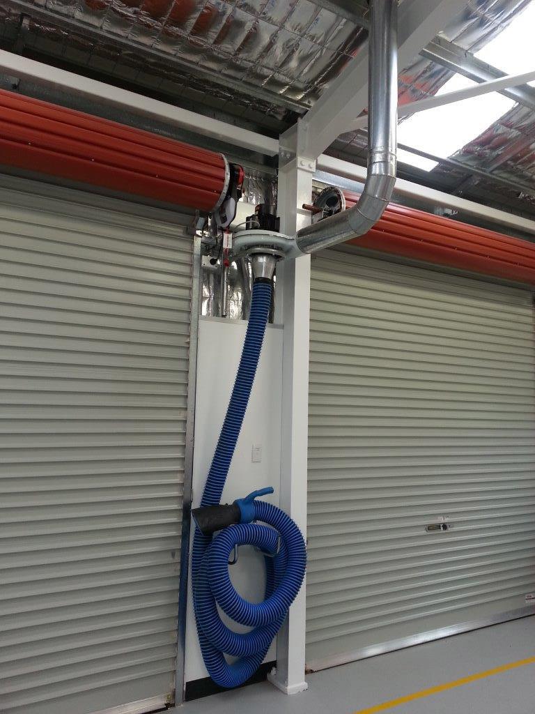 Nederman single exhaust system