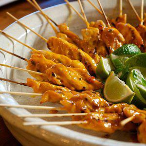 Asian chicken appetizers