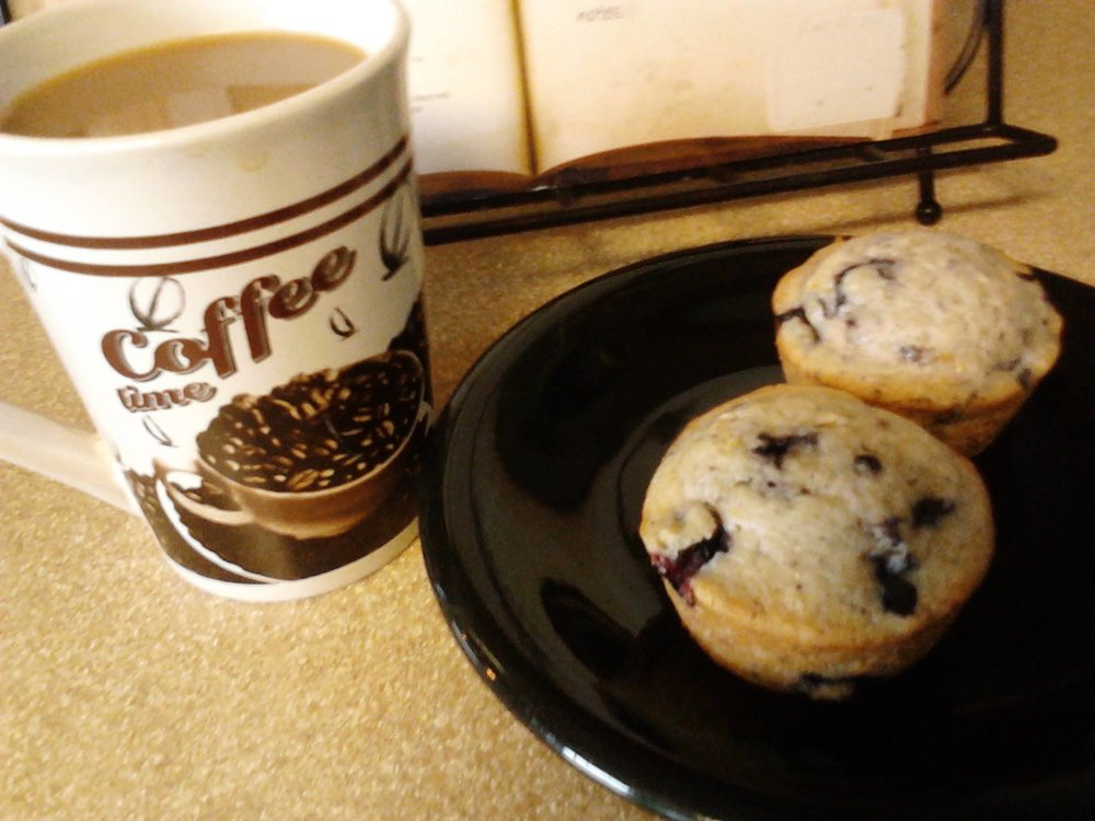 Hot Coffee & Muffins