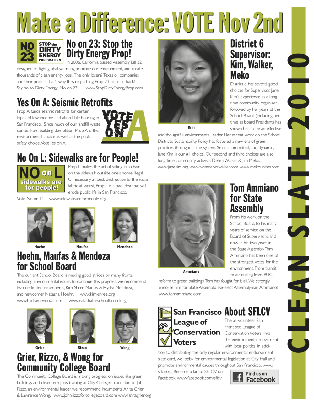 11/2010 District 6 mailer