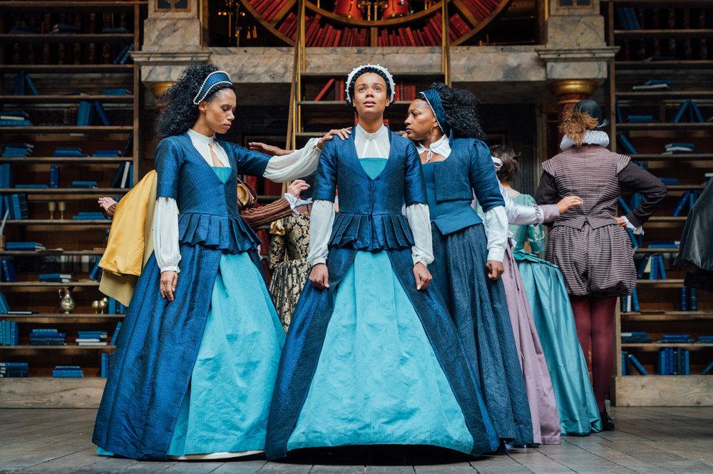 Emilia, Shakespeare's Globe, credit: Helen Murray