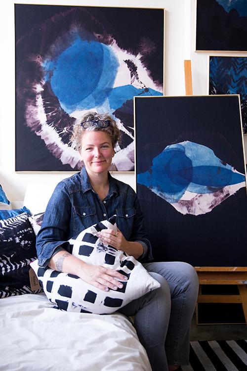 Pictured:Carrie Crawford www.mineralworkshop.com Photo:Sarah Deragon www.portraitstothepeople.com