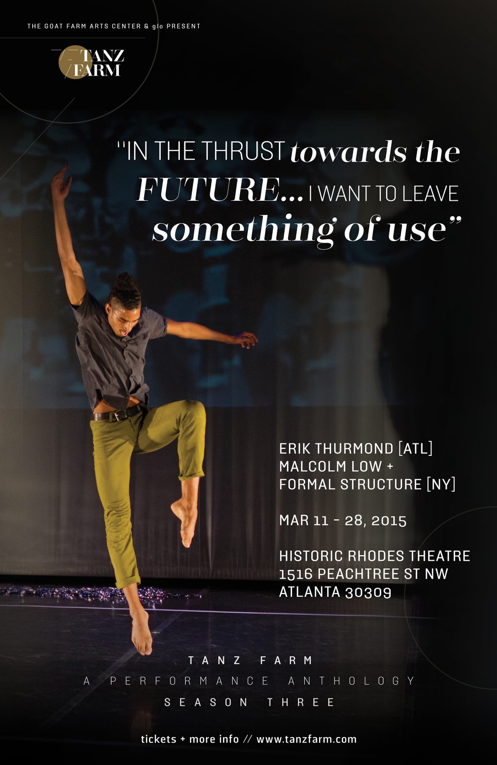 In thrust towards the future...I want to leave something of us :: Erik Thurmond [ATL] + Formal Structure [NY]