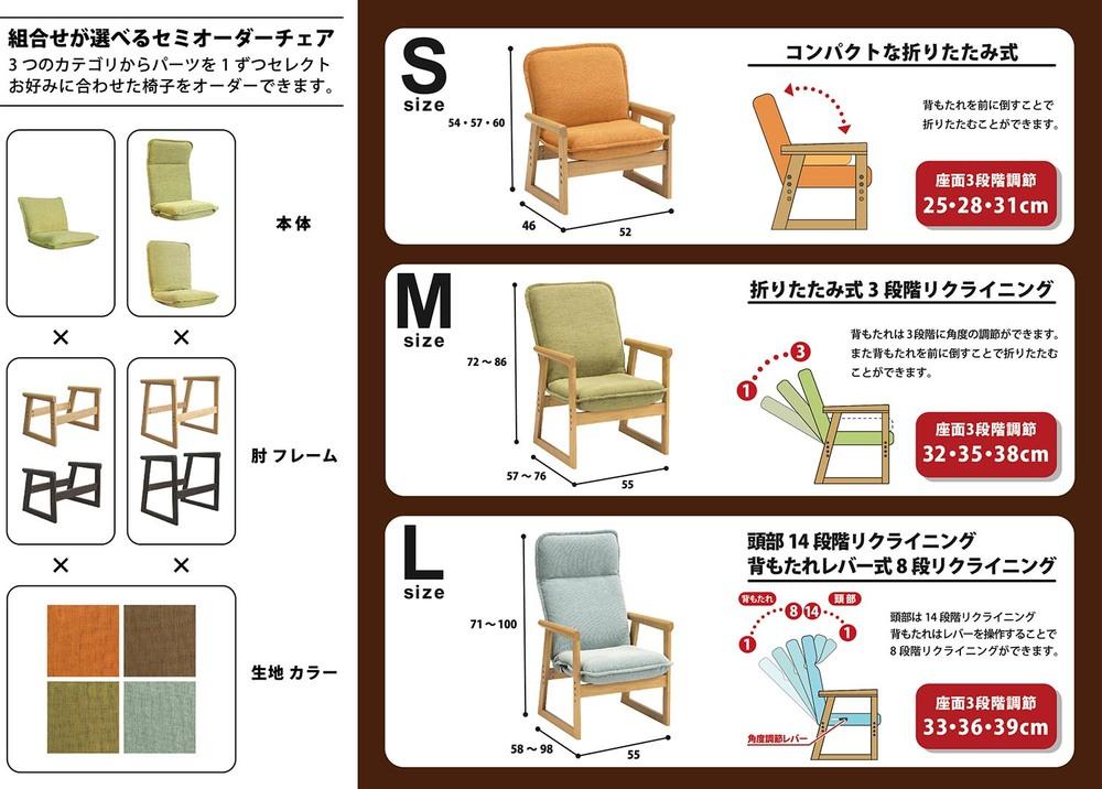 hidamari(ひだまり) セレクトチェア 詳細説明