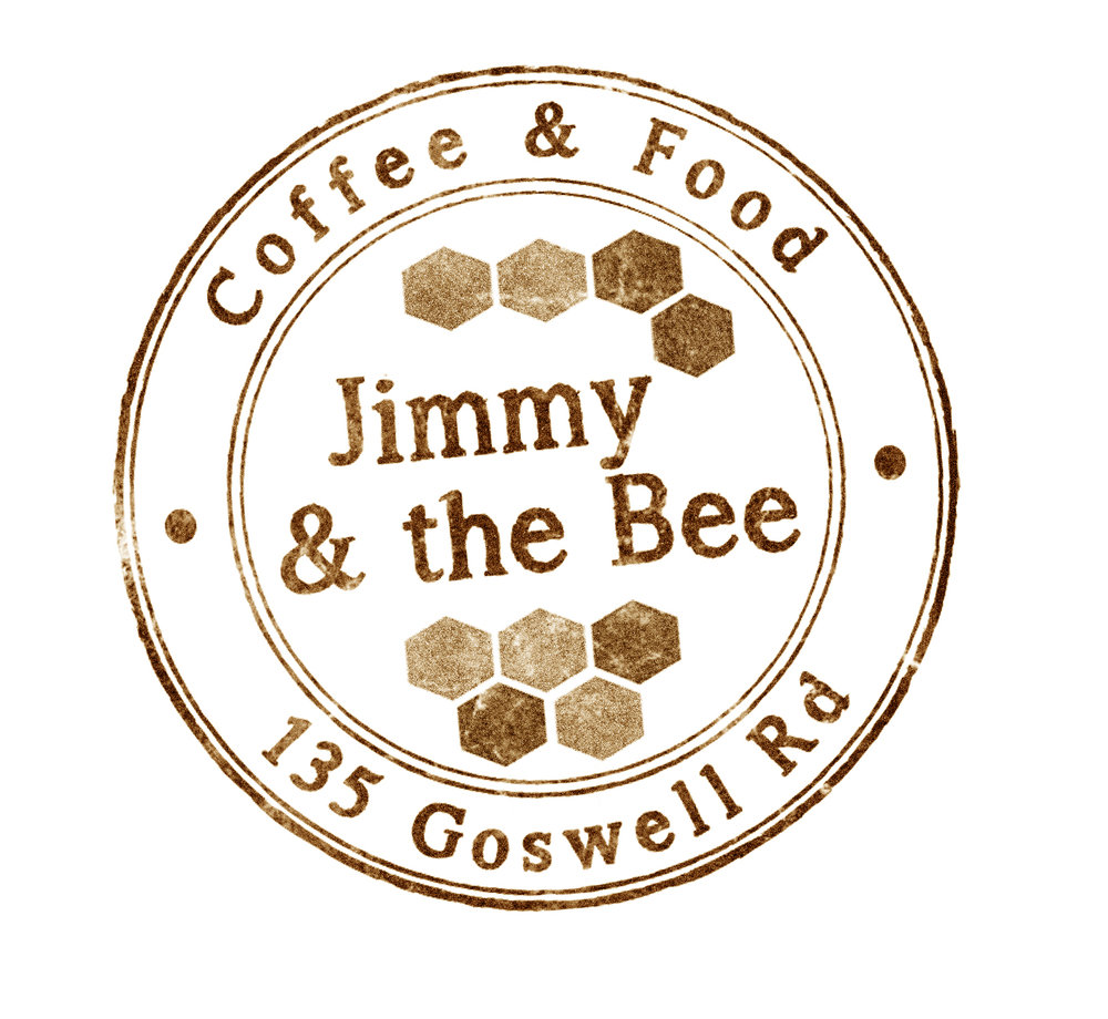 - – Jimmy & the Bee –[ coffee  house]Jimmy and the Bee is a neighbourhood place serving great coffee, quality tea and real, flavoursome food in an easy, comfortable environment.Gather with friends or meet colleagues at Jimmy's giant table. Get your morning dose with a smile, or to take time out for a pot of tea and a game of dominoes. You'll get to know Jimmy's good people, and maybe some neighbours too.Food and drinkJimmy is choosey. Our menu combines delicious home-made food with carefully sourced specialties.Our foodJimmy's own good fare includes tempting and healthy breakfasts and lunch specials, warming and tasty soups, great salads, feta pancakes and our melting three cheese toasties ... oh yeah.Our carefully selected partners in food are Yeast for pastries, Hush Hush for borek, granola from Husk and Honey, and our bakers are the lovely team at Dusty Knuckle.Our CoffeeJimmy's main blend of specialty coffee is roasted by the good and clever Alchemists. We also have regular guest blends from local roasteries.It's great coffee, responsibly sourced. And we thank them for it.Our espresso coffees are served with a double shot as standard – that's about 50mls of espresso in each drink. Just let us know if you like it differently.Our filter coffee is made with perfect precision, served with a smile.Hang with JimmyWe have walls, and welcome local artists to hang their work ... or to create it on our white space.Jimmy? The Bee?Jimmy is an intrepid tabby cat who lives on a street of terraced houses, backing on to another street of terraced houses. That's a goldmine of lush gardens and kind neighbours ripe for Jimmy's particular charm.The Bee is one of a hive. When The Bee and his hum swarmed into Jimmy's favoured backyard – the one with the raised platform catching the afternoon sun - Jimmy's lazy afternoons were never the same.Jimmy and the Bee are on an urban adventure ... more of that soon.