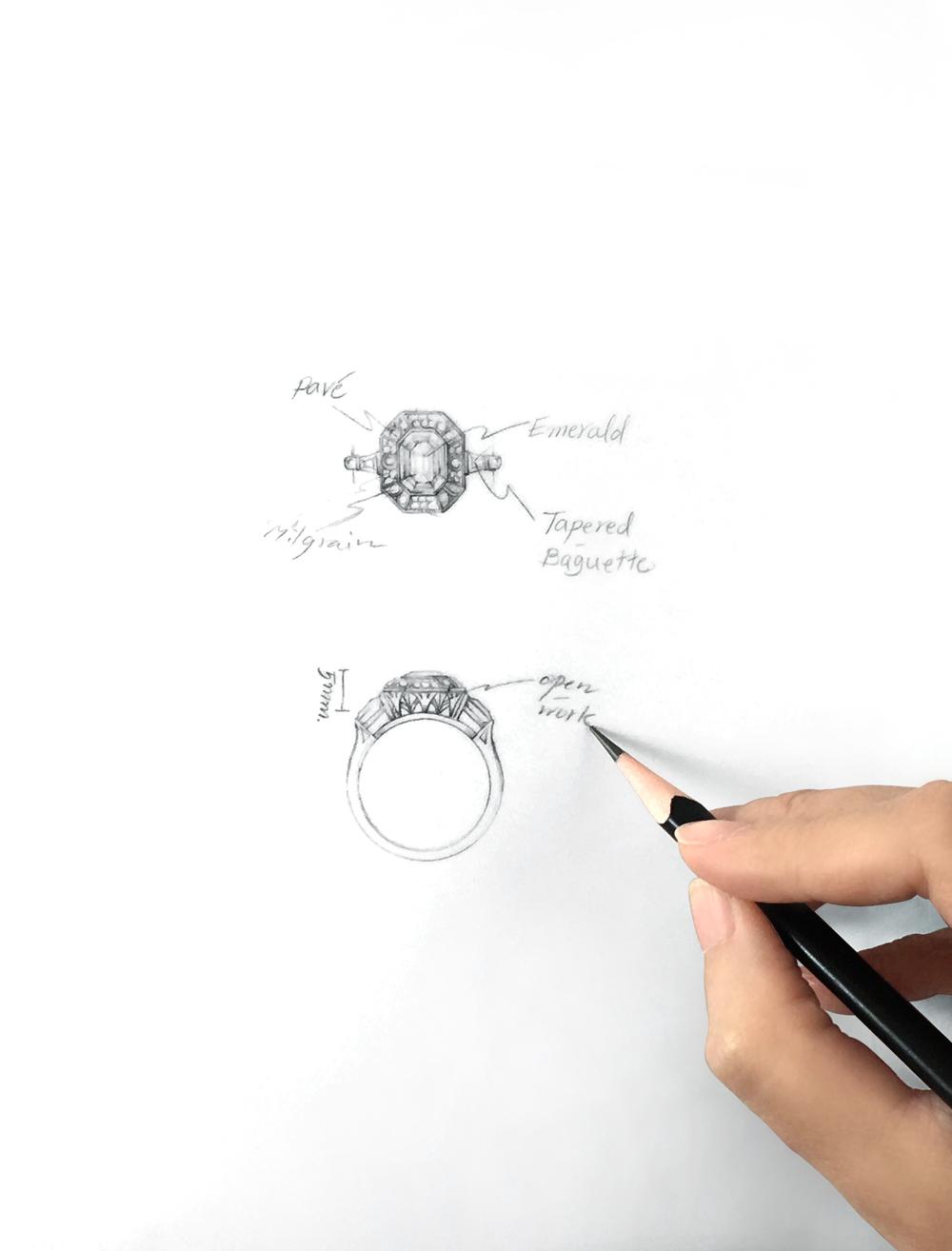 Design sketch by Verda & Floren