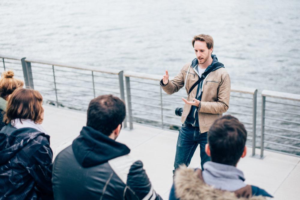 Fotografie Kurs von David Grigo am Rhein in Köln