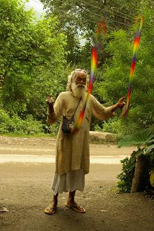 Juggling by the Ganges II.JPG