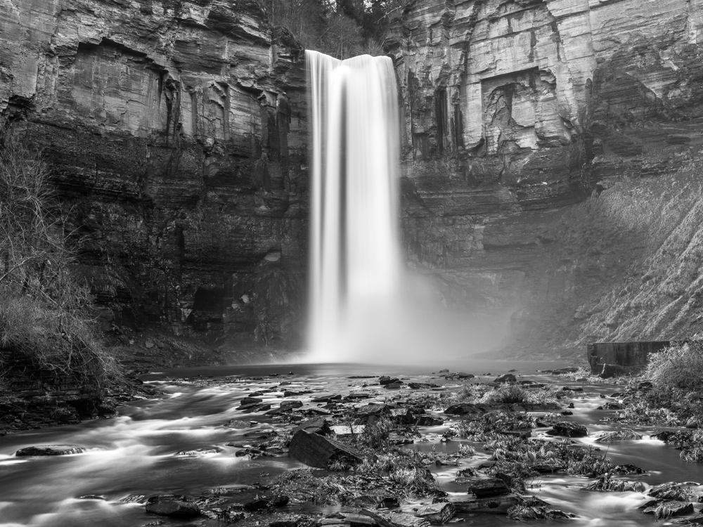Silky waterfall using a 20 second exposure