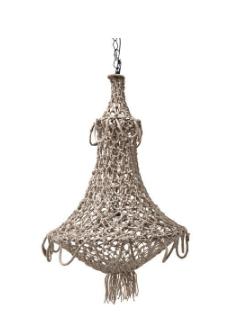 Orleans rope chandelier