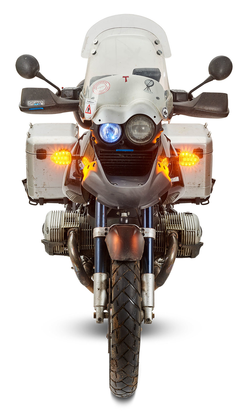 Ultrabrights Legacy II Extreme turn signal upgrades for even earlier BMW 'R, F and K' series - Even earlier BMW bikes from 1993 to 2004