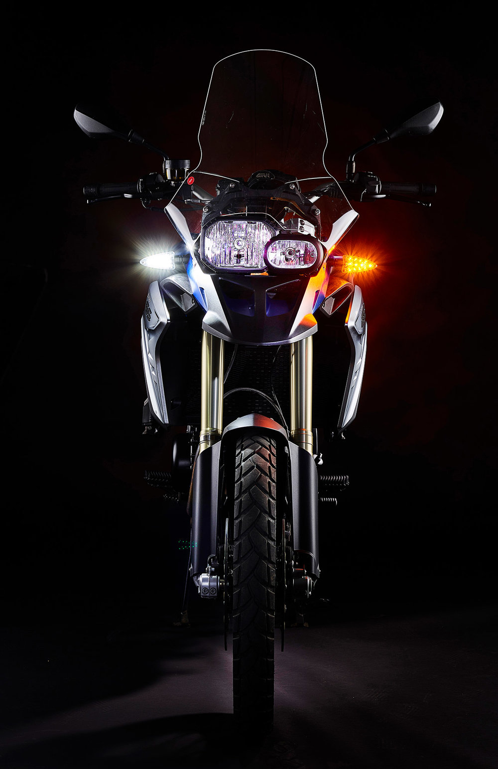 Ultrabrights 2-in-1 LED driving light/turn signal upgrades - For newer BMW motorcycles