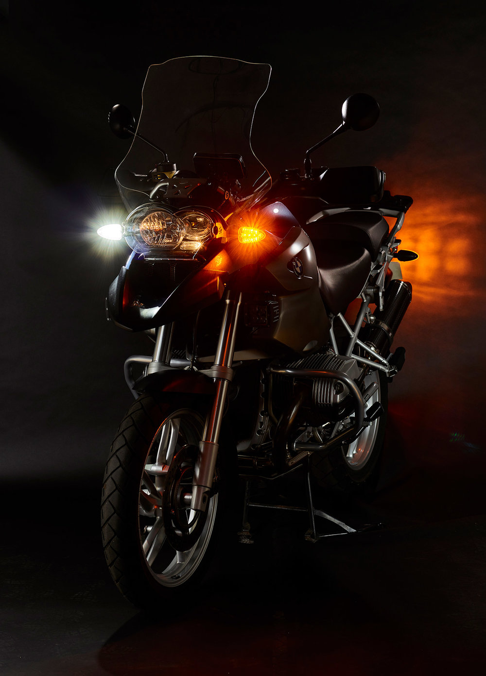 Ultrabrights 2-in-1 LED driving light/turn signal upgrades - For earlier BMW 'R, F, G, K and HP' series motorcycles from 2000 to 2014