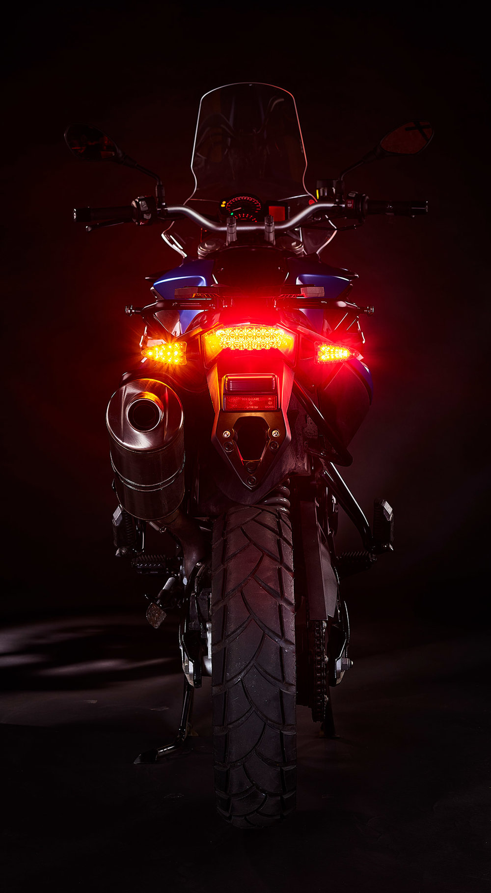 Ultrabrights 2-in-1 LED brake light/turn signal upgrades - For newer BMW motorcycles