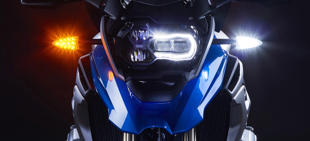 High-intensity Motorcycle Lights