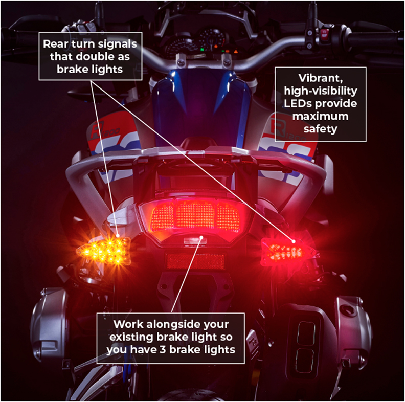 MOTORCYCLE BRAKE LIGHT LED UPGRADES