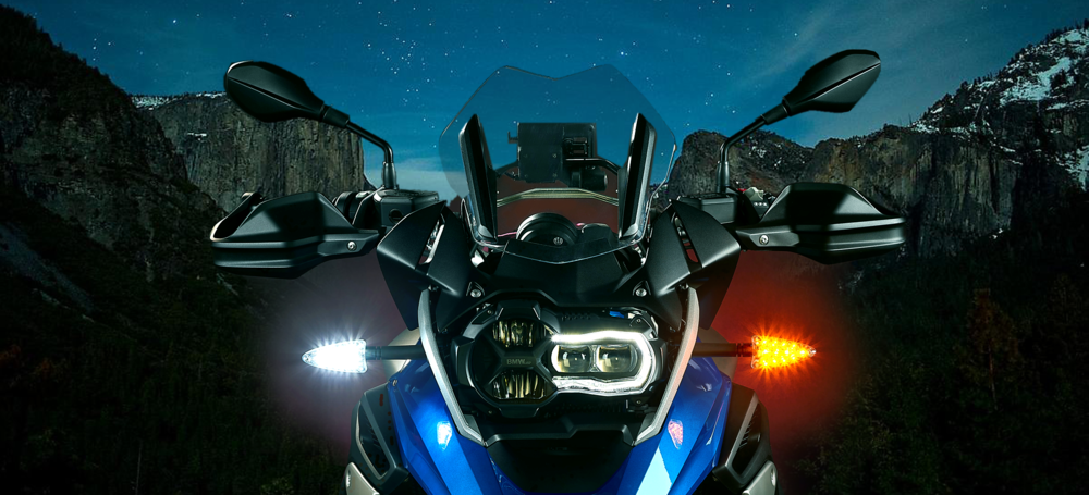 High-intensity LED Motorcycle Upgrades