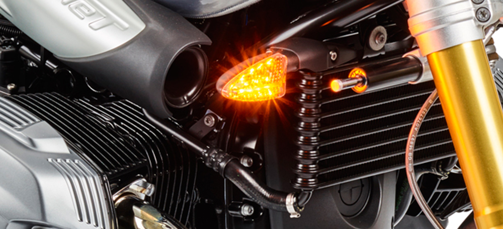 Standalone Motorcycle LED Turn Signals