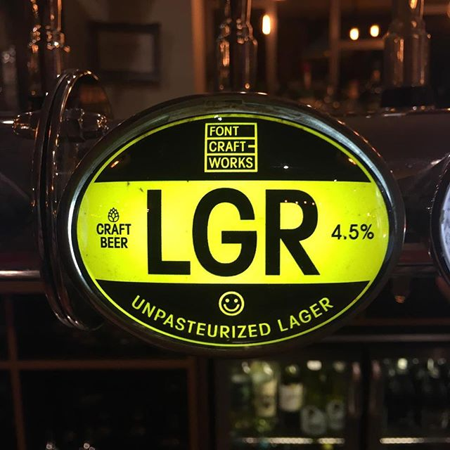 We've just brought in our new LGR Lager from Navigation. Pop down now and show us this post to get yourself a free pint!