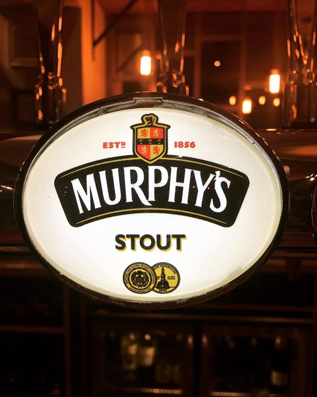 Pop in and try out our new stout! #thepeoplesstout #murphysstout @murphysstoutus