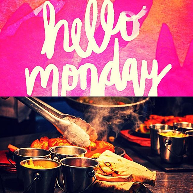 30% off all food on a Monday! #mondaymotivation #foodies
