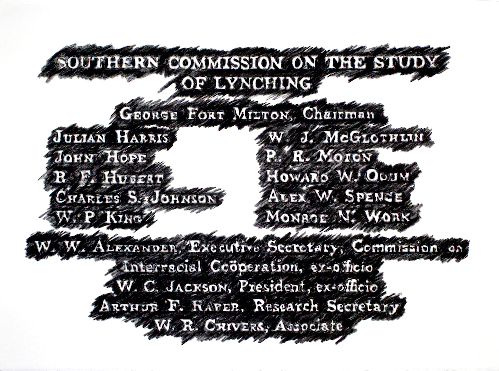 Southern Commission on the Study of Lynching 1930