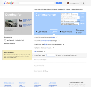 GOOGLE COMPARE A human way to search and compare solutions to real life problems, whether it be car insurance or your next mortgage.