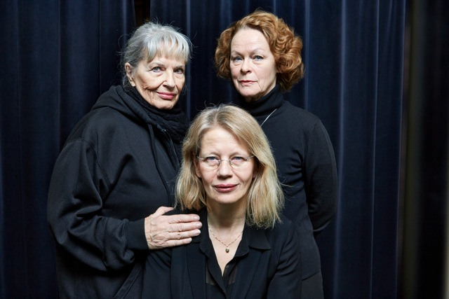 Gunnel Lindblom, Iréne Lindh och Kim Hedås. Foto: Bengt Alm/Audiorama