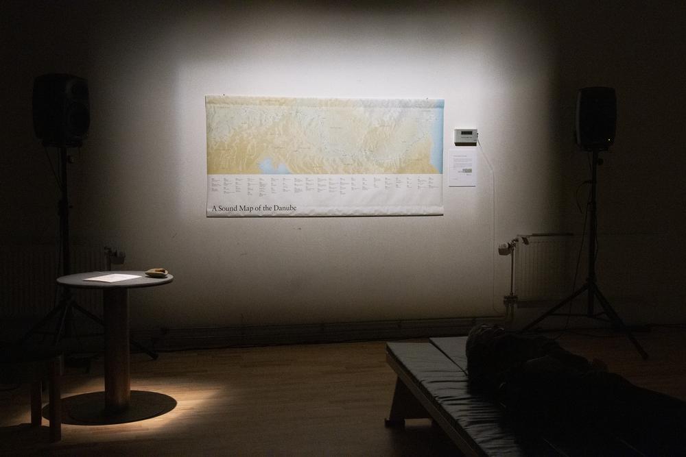 Annea Lockwood,  A Sound Map of the Danube  – sound art installation (2019). ©Bodil Bolstad