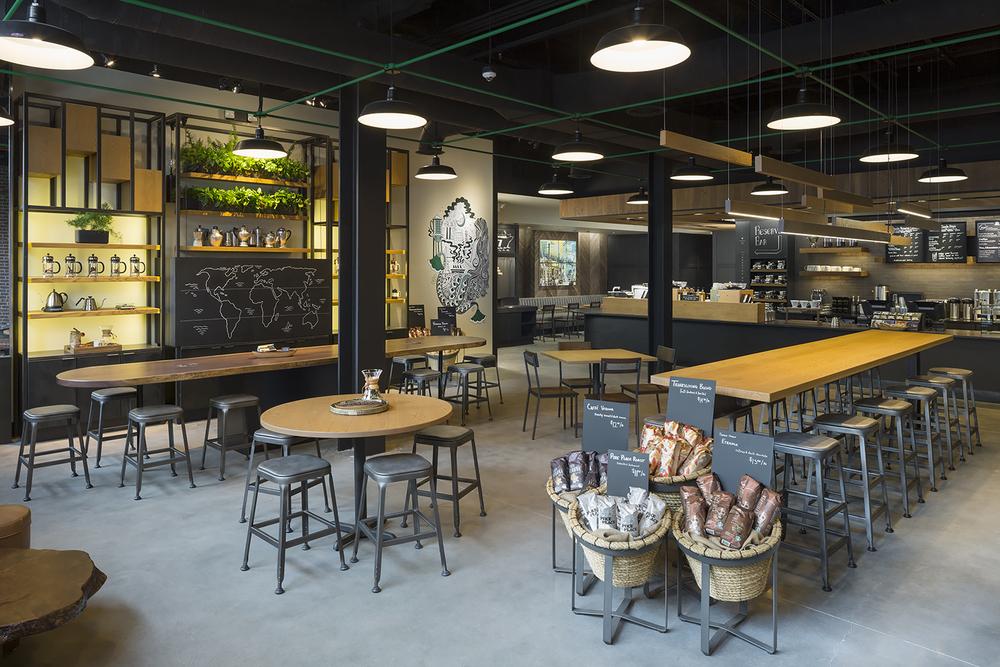 Ari Burling Architectural Photography Starbucks — ARI BURLING ...