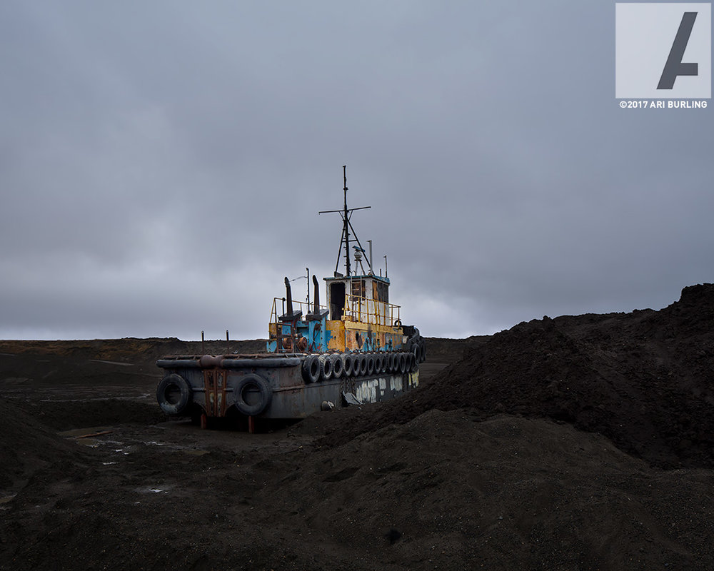 Abandoned Tugboat | Barrow, Alaska