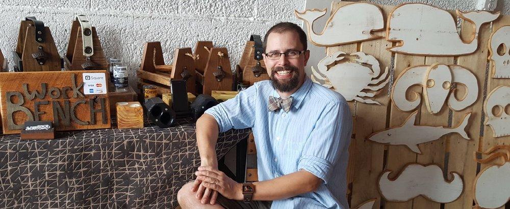 Mike Leveille, Owner & Maker