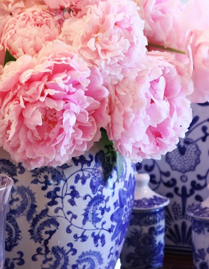 Blue-and-white-ginger-jar-with-pink-flowers