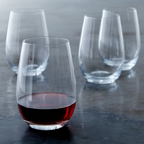 Stemless Red Wine Glass - $7
