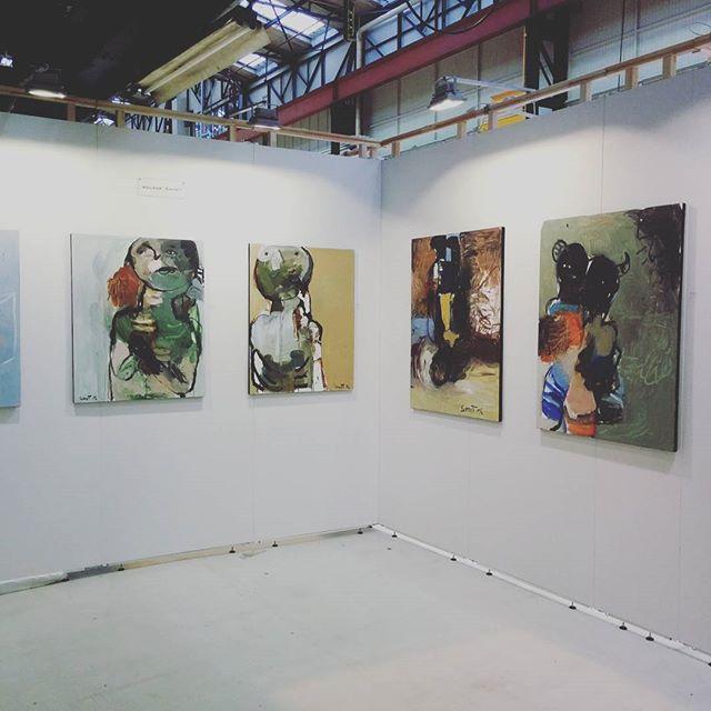 @norty.paris Booth E6 The work of Adlane Samet is intensely captivating @sametadlane  @affordableartfairnl #AAFams